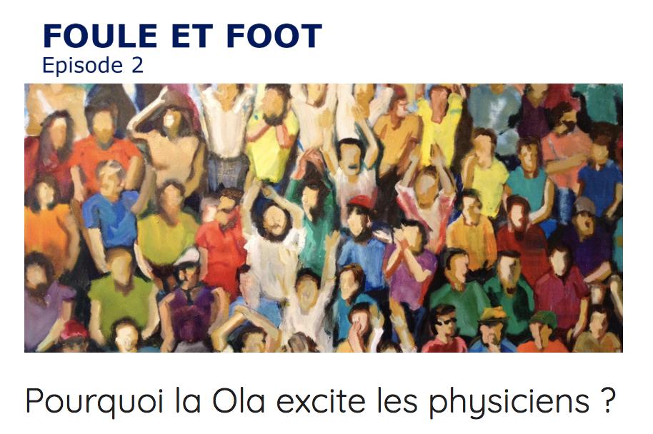 Mehdi Moussaid Foule et Foot #2 Fouloscopie