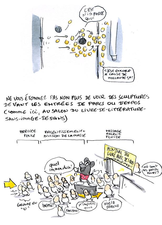 Marion Montaigne Fouloscopie sur les recherches de Mehdi Moussaid