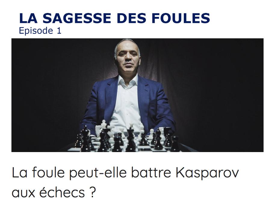 Kasparov contre le reste du monde