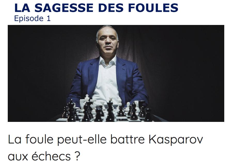 Fouloscopie Kasparov Mehdi Moussaid